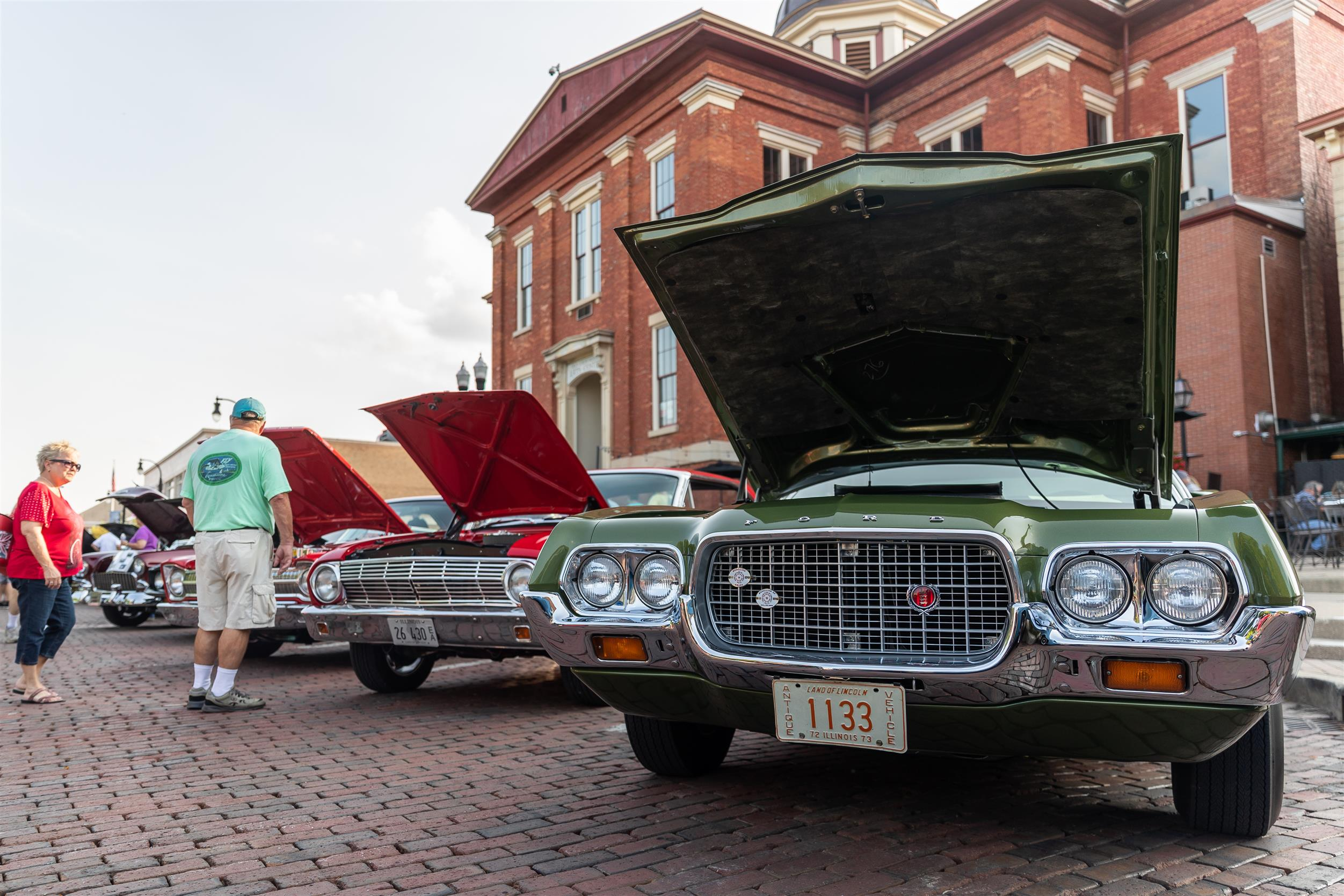 Annual Woodstock Square Car Show